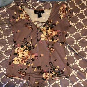 Rue21 Flower Bodysuit